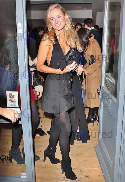 LONDON - December 18: Kimberly Garner at the Snow Queen Vodka 2013 - Calendar Launch Party (Photo by Brett D. Cove)