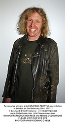 Turner prize winning artist GRAYSON PERRY at an exhibition in London on 2nd February 2004.PRF 17