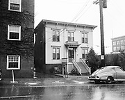 Y-500106-01. Cromwell Annex, one of the oldest buildings in Portland, 425 SW Columbia, between SW 4th & 5th. January 6, 1950