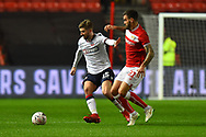 Luke Murphy (15) of Bolton Wanderers battles for possession with Marlon Pack (21) of Bristol City during the The FA Cup fourth round match between Bristol City and Bolton Wanderers at Ashton Gate, Bristol, England on 25 January 2019.