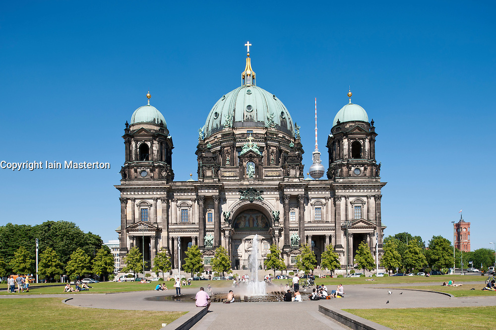 Berlin Cathedral or Dom in Mitte district of Berlin Germany