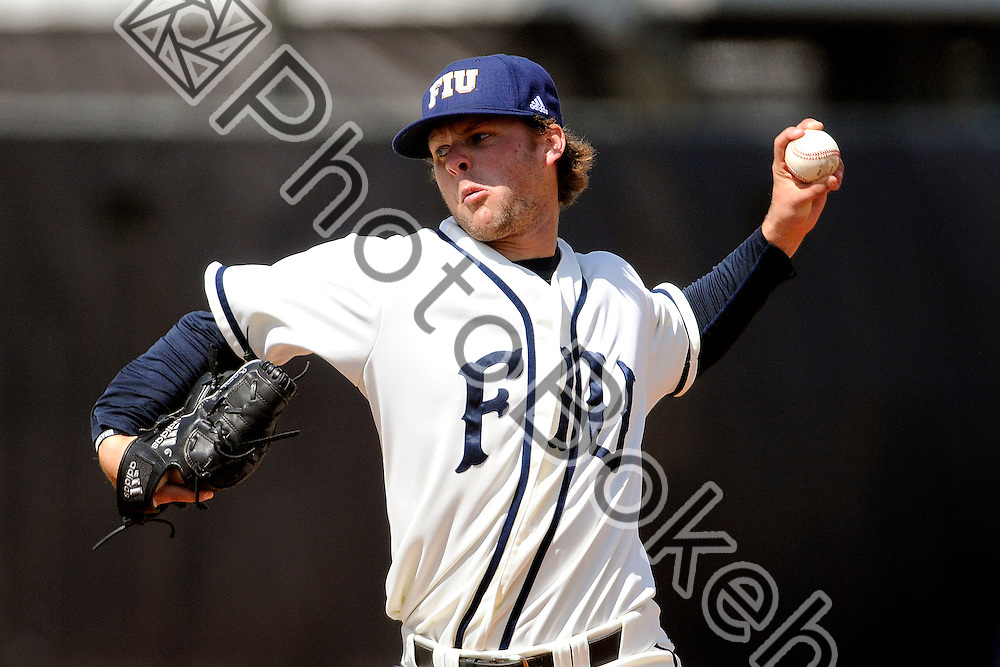 2013 March 03 - FIU's Ty Sullivan (6). .Florida International Univeristy fell to Ole Miss, 1-8, at the FIU Baseball Stadium, Miami, Florida. (Photo by: www.photobokeh.com / Alex J. Hernandez) This image is copyright PhotoBokeh.com and may not be reproduced or retransmitted without express written consent of PhotoBokeh.com. ©2013 PhotoBokeh.com - All Rights Reserved