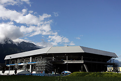 Stadium in Innsbruck before the UEFA EURO 2008 Group D soccer match between Sweden and Russia at Stadion Tivoli NEU, on June 18,2008, in Innsbruck, Austria. Russia won 2:0. (Photo by Vid Ponikvar / Sportal Images)