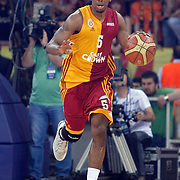 Galatasaray's Jerry JOHNSON during their Turkish Basketball league Play Off Final fourth leg match Galatasaray between Fenerbahce Ulker at the Abdi Ipekci Arena in Istanbul Turkey on Saturday 11 June 2011. Photo by TURKPIX
