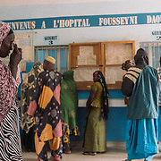 OPD- Kayes Hospital, Mali.