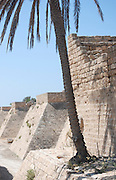 Israel, Caesarea, the moat