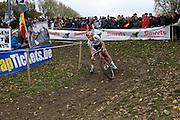 Friday 1 November 2013: Ian Field leads the Koppenbergcross 2013 men's race on the first lap. Copyright 2013 Peter Horrell