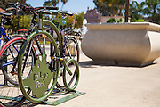 Bike Rack at Balboa Park in San Diego