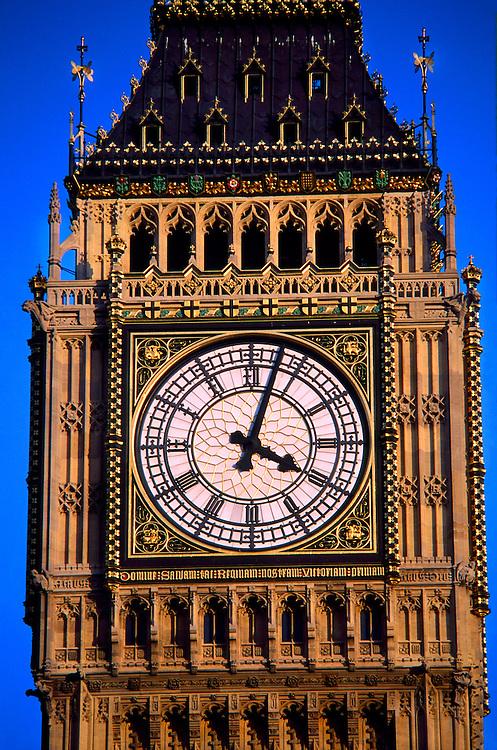 Big Ben, Houses of Parliament, London, England