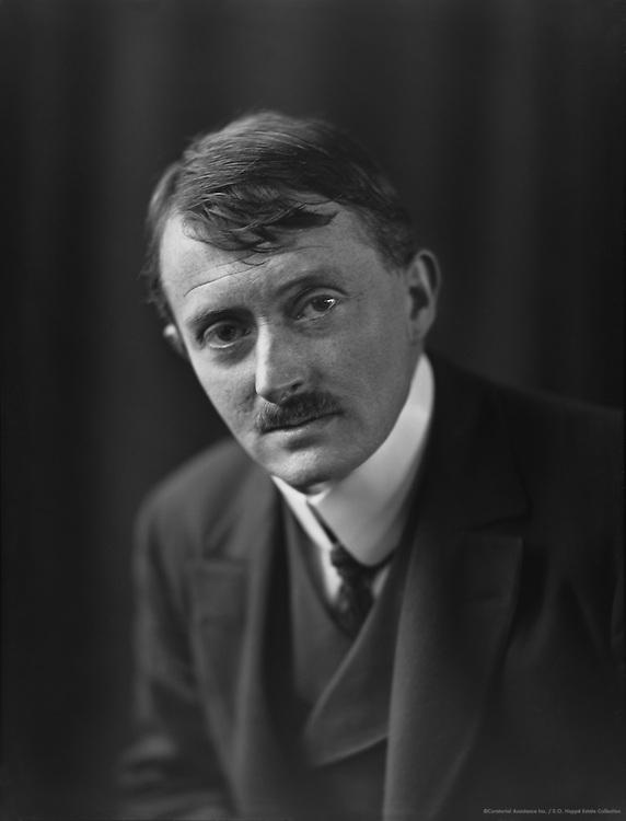 John Masefield, English Author and Poet, 1912