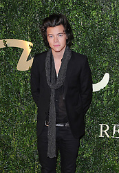 Harry Styles arriving at the British Fashion Awards in London, Monday, 2nd December 2013. Picture by i-Images