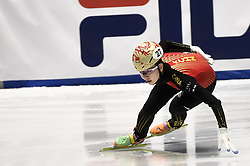 February 8, 2019 - Torino, Italia - Foto LaPresse/Nicolò Campo .8/02/2019 Torino (Italia) .Sport.ISU World Cup Short Track Torino - 1500 meter Ladies Quater Finals.Nella foto: Yihan Guo..Photo LaPresse/Nicolò Campo .February 8, 2019 Turin (Italy) .Sport.ISU World Cup Short Track Turin - 1500 meter Ladies Quater Finals.In the picture: Yihan Guo (Credit Image: © Nicolò Campo/Lapresse via ZUMA Press)
