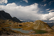 Macun lakes between Zizers and Lavin, ca. 2600m.