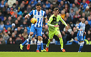 Brighton striker, Tomer Hemed (10) during the Sky Bet Championship match between Brighton and Hove Albion and Huddersfield Town at the American Express Community Stadium, Brighton and Hove, England on 23 January 2016.