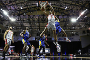ORLANDO, FL - MARCH 8: Kenny Wooten #0 of the Rio Grande Valley Vipers dunks the ball against the Santa Cruz Warriors during the NBA G League Playoffs on March 8, 2021 at HP Field House in Orlando, Florida. NOTE TO USER: User expressly acknowledges and agrees that, by downloading and/or using this Photograph, user is consenting to the terms and conditions of the Getty Images License Agreement. Mandatory Copyright Notice: Copyright 2021 NBAE (Photo by Chris Marion/NBAE via Getty Images)