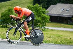 De Marchi Alessandro of CCC Team during Slovenian Road Cycling Championship in time trial 2020 on June 28, 2020 in Zg. Gorje - Pokljuka, Slovenia. Photo by Peter Podobnik / Sportida.