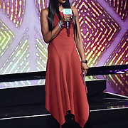 Naomi Campbell on stage at WE Day UK at Wembley Arena, London, Uk 6 March 2019.