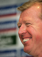 Photo: Paul Thomas.<br />England Press Conference. 01/09/2006.<br /><br />Steve McClaren, England Manager.