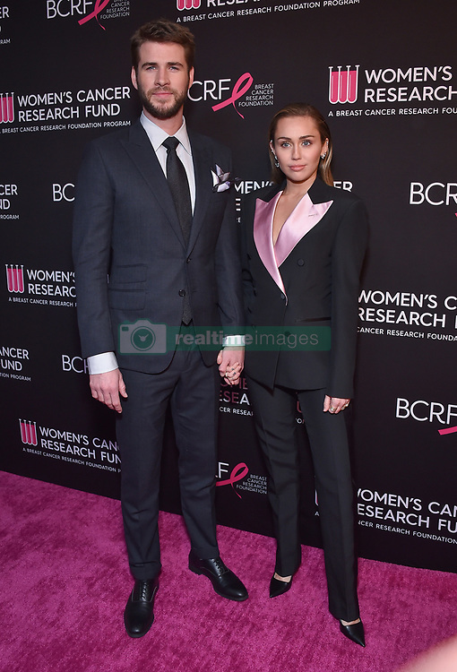 Liam Hemsworth and Miley Cyrus at An Unforgettable Evening benefiting the Women's Cancer Research Fund held at the Beverly Wilshire Hotel on February 28, 2019 in Beverly Hills, CA. © O'Connor/AFF-USA.com. 28 Feb 2019 Pictured: Liam Hemsworth and Miley Cyrus. Photo credit: O'Connor/AFF-USA.com / MEGA TheMegaAgency.com +1 888 505 6342