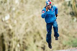 06.01.2014, Paul Ausserleitner Schanze, Bischofshofen, AUT, FIS Ski Sprung Weltcup, 62. Vierschanzentournee, Probesprung, im Bild Stefan Kraft (AUT) // Stefan Kraft (AUT) during Trial Jump of 62nd Four Hills Tournament of FIS Ski Jumping World Cup at the Paul Ausserleitner Schanze, Bischofshofen, Austria on 2014/01/06. EXPA Pictures © 2014, PhotoCredit: EXPA/ JFK