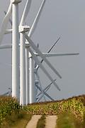 Wind turbines near Montello, Wisconsin; Florida Power & Light