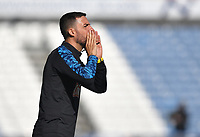 Huddersfield Town's Assistant Coach Narcis 'Chicho' Pelach<br /> <br /> Photographer Dave Howarth/CameraSport<br /> <br /> The EFL Sky Bet Championship - Huddersfield Town v Norwich - Saturday September 12th 2020 - The John Smith's Stadium - Huddersfield<br /> <br /> World Copyright © 2020 CameraSport. All rights reserved. 43 Linden Ave. Countesthorpe. Leicester. England. LE8 5PG - Tel: +44 (0) 116 277 4147 - admin@camerasport.com - www.camerasport.com