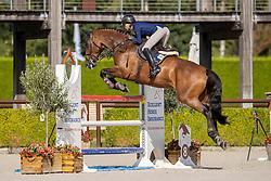 De Ruijter Anouk, NED, Jones<br /> Nationaal Kampioenschap KWPN<br /> 6 jarigen springen final<br /> Stal Tops - Valkenswaard 2020<br /> © Hippo Foto - Dirk Caremans<br /> 19/08/2020
