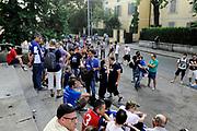 DESCRIZIONE : Reggio Emilia Lega A 2014-15 Grissin Bon Reggio Emilia - Banco di Sardegna Sassari playoff Finale gara 1 <br /> GIOCATORE : tifosi<br /> CATEGORIA : tifosi pregame before<br /> SQUADRA : Banco di Sardegna Sassari<br /> EVENTO : LegaBasket Serie A Beko 2014/2015<br /> GARA : Grissin Bon Reggio Emilia - Banco di Sardegna Sassari playoff Finale gara 1<br /> DATA : 14/06/2015 <br /> SPORT : Pallacanestro <br /> AUTORE : Agenzia Ciamillo-Castoria /M.Marchi<br /> Galleria : Lega Basket A 2014-2015 <br /> Fotonotizia : Reggio Emilia Lega A 2014-15 Grissin Bon Reggio Emilia - Banco di Sardegna Sassari playoff Finale gara 1<br /> Predefinita :
