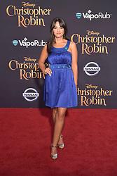 July 30, 2018 - Burbank, Kalifornien, USA - Paula Garces bei der Premiere des Kinofilms 'Christopher Robin' in den Walt Disney Studios. Burbank, 30.07.2018 (Credit Image: © Future-Image via ZUMA Press)