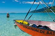 Motu Tiahura, Moorea, French Polynesia, South Pacific