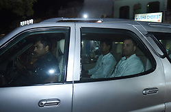 October 10, 2018 - Allahabad, India - Congress national president Rahul Gandhi Arrives Kamla Nehru Cancer hospital to inaugurage cancer treatment machine ,in Allahabad on October 10, 2018  (Credit Image: © Ritesh Shukla/NurPhoto via ZUMA Press)