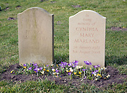 Husband and wife headstones re-united in death