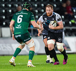 Dan Baker of Ospreys<br /> <br /> Photographer Simon King/Replay Images<br /> <br /> Guinness PRO14 Round 6 - Ospreys v Connacht - Saturday 2nd November 2019 - Liberty Stadium - Swansea<br /> <br /> World Copyright © Replay Images . All rights reserved. info@replayimages.co.uk - http://replayimages.co.uk