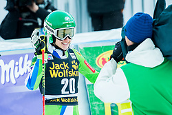 """Tina Robnik (SLO) during the FIS Alpine Ski World Cup 2017/18 5th Ladies' Giant Slalom race named """"Golden Fox 2018"""", on January 6, 2018 in Podkoren, Kranjska Gora, Slovenia. Photo by Ziga Zupan / Sportida"""