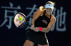 October 2, 2018 - Angelique Kerber of Germany in action during her second-round match at the 2018 China Open WTA Premier Mandatory tennis tournament (Credit Image: © AFP7 via ZUMA Wire)