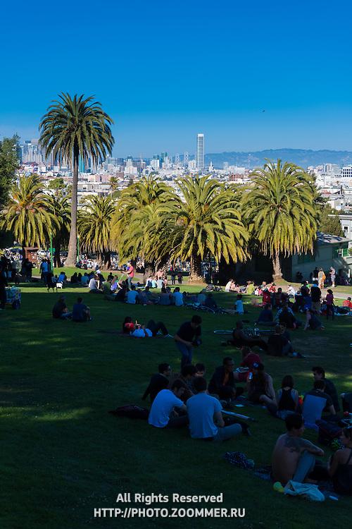 Mission Dolores Park, San Francisco