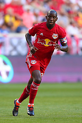 May 26, 2018 - Harrison, NJ, U.S. - HARRISON, NJ - MAY 26:   New York Red Bulls forward Bradley Wright-Phillips (99) during the first half of the Major League Soccer Game between the New York Red Bulls and the Philadelphia Union on May 26, 2018, at Red Bull Arena in Harrison, NJ.  (Photo by Rich Graessle/Icon Sportswire) (Credit Image: © Rich Graessle/Icon SMI via ZUMA Press)