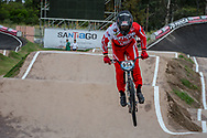 #954 (FAORO Tyler) USA at the 2016 UCI BMX Supercross World Cup in Santiago del Estero, Argentina