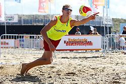 20150828 NED: NK Beachvolleybal 2015, Scheveningen<br />Kwalificaties NK Beachvolleybal 2015, Martijn van Eerd
