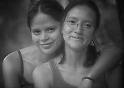 Claudia and Guillermina Montenegro - Sisters; Mindo, Ecuador
