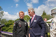 NICO ROSBERG; ARNAUD BAMBERGER, The Cartier Style et Luxe during the Goodwood Festivlal of Speed. Goodwood House. 1 July 2012.