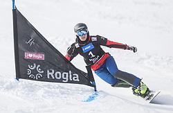 Ulbing Daniela during the FIS snowboarding world cup race in Rogla (SI / SLO) | GS on January 20, 2018, in Jasna Ski slope, Rogla, Slovenia. Photo by Urban Meglic / Sportida