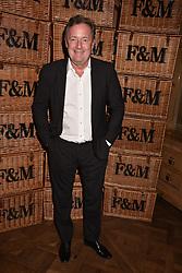 Piers Morgan at the Fortnum & Mason Food and Drink Awards, Fortnum & Mason Food and Drink Awards, London, England. 10 May 2018.