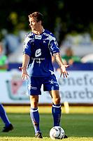 Fotball <br /> Adeccoligaen<br /> Hønefoss Idrettspark<br /> 24.08.08<br /> Hønefoss BK  v  FK Haugesund  1-1<br /> <br /> Foto: Dagfinn Limoseth, Digitalsport<br /> Cameron Weaver , Haugesund