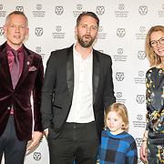 NLD/Rotterdam/20180124 - Openingsfilm IFFR 2018, premiere Jimmy, Bero Beyer, filmmaker Jesper Ganslandt en zoon Hunter en Janneke Staarink