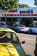 Sam's Shoes On Del Mar Street In San Clemente California
