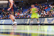 Fans look on during a WNBA preseason game between the Dallas Wings and the Connecticut Sun in Arlington, Texas on May 8, 2016.  (Cooper Neill for The New York Times)