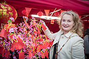 NO FEE PICTURES                                                                                                                                                                  26/1/20 Deputy Lord Mayor Mary Fitzpatrick celebrating the Chinese New Year, the year of the Rat at the New Years festival at Hill street in Dublin's north inner city. Picture: Arthur Carron