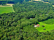 Nederland, Overijssel, Gemeente Dinkelland, 21–06-2020; natuurgebied Roderveld, bossen met loof- en naaldbomen en coulissenlandschap tussen  Denekamp en Oldenzaal.<br /> Nature reserve Roderveld, forests with deciduous and coniferous trees and a scenic landscape between Denekamp and Oldenzaal.<br /> <br /> luchtfoto (toeslag op standaard tarieven);<br /> aerial photo (additional fee required)<br /> copyright © 2020 foto/photo Siebe Swart