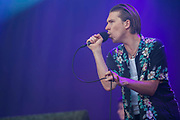 Alex Cameron plays the Obelisk stage - The 2018 Latitude Festival, Henham Park. Suffolk 14 July 2018The 2018 Latitude Festival, Henham Park. Suffolk 14 July 2018